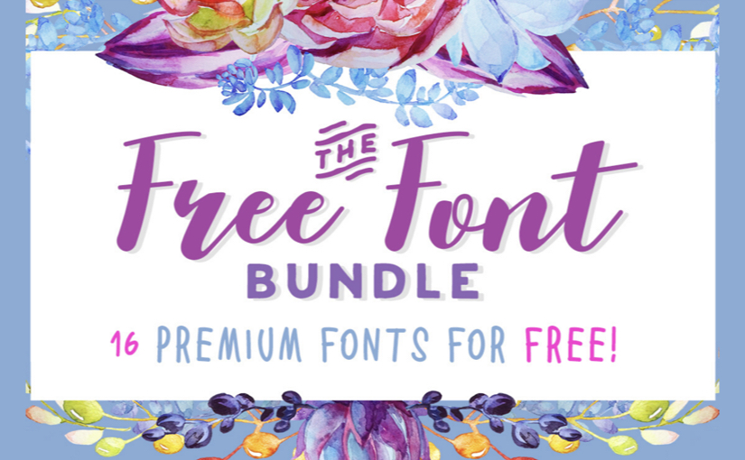 Free Font Bundle by Creative Fabrica