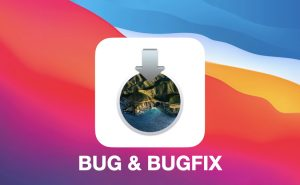 MacOS 11 Big Sur bug & bugfix