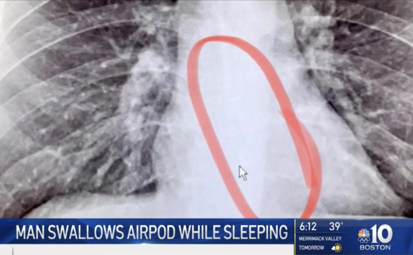 Il rischio di addormentarsi con gli AirPods