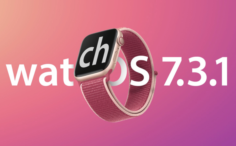 Apple rilascia watchOS 7.3.1