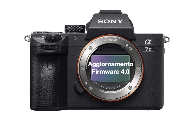Nuovo firmware 4.0 per la Sony Alpha 7 III