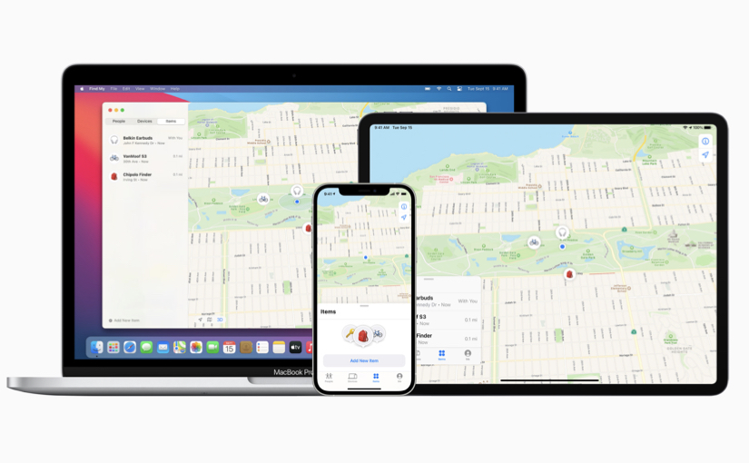Parte il Find My Network Accessory Program di Apple