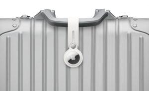 AirTag su un bagaglio