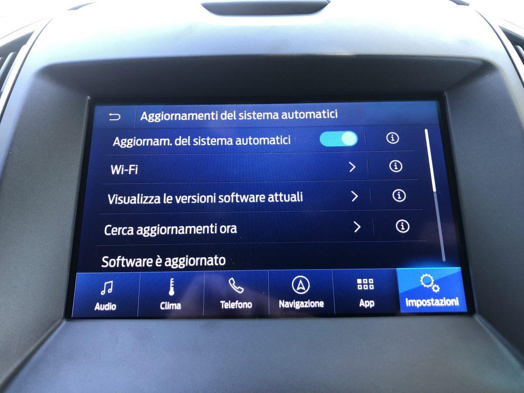 Ford Sync 3.4 - Aggiornamenti automatici