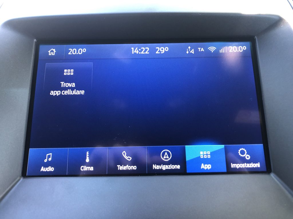 Ford Sync 3.4 - App