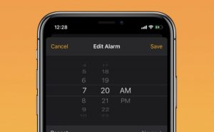 iOS - Date and Time selection