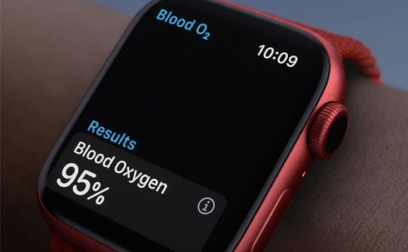 Apple Watch 6 - Blood Oxygen