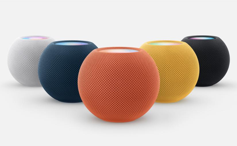 Apple ha presentato HomePod mini in nuovi vivaci colori