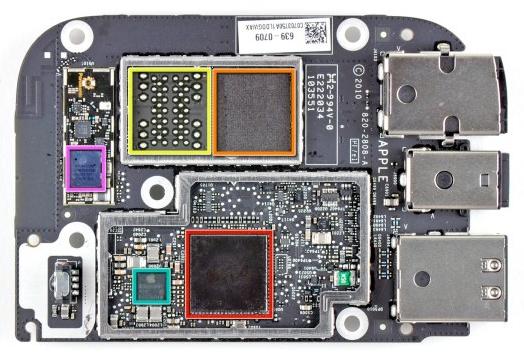 Apple TV - La scheda madre