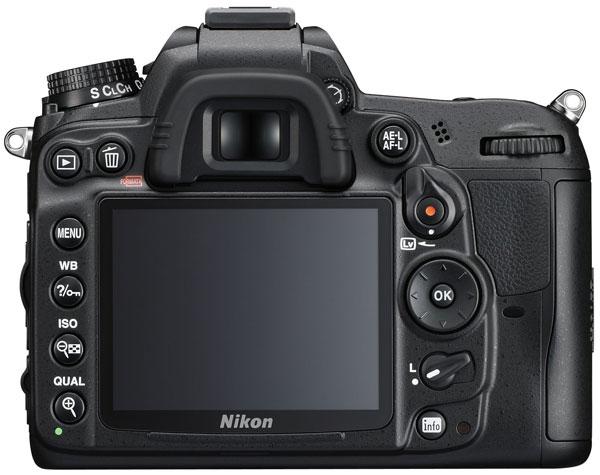 Nikon D7000 - Retro - Back