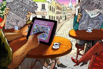 Walt Mosberg - Un americano a Parigi solo con il suo iPad